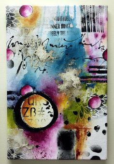 Art journal inspiration - Graffiti Grunge 4