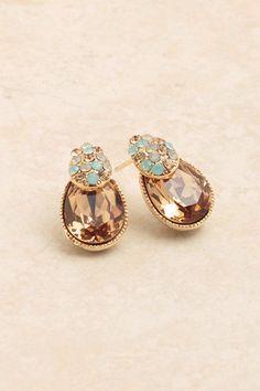Opalescent Antique Style Earrings by ALLYandASHLEY on Etsy,
