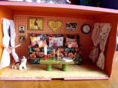 ▶ Shoebox Doll House - YouTube