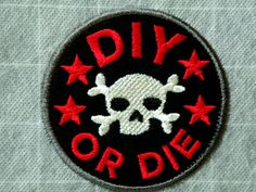 DIY or DIE Iron on Patch
