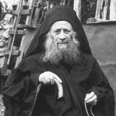 """""""Elder Joseph the Hesychast: The only hope of salvation from the delusions ."""" Photo of Elder Joseph the Hesychast Miséricorde Divine, Joseph, Church Quotes, Orthodox Christianity, Orthodox Icons, Special People, Spirituality, Artwork, Christian Faith"""