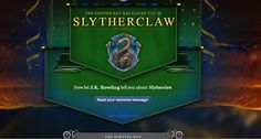 Welcome to Slytherclaw