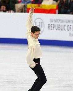 Javier Fernandez - Man of La Mancha Ice Skating, Figure Skating, Man Of La Mancha, Javier Fernandez, Skate, Ballet Skirt, Beautiful, Fashion, Skating