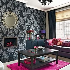 nice 10 Modern Wallpapers Ideas For Your Room Wall http://matchness.com/2018/02/17/10-modern-wallpapers-ideas-room-wall/