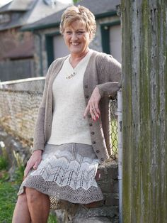 Summer knits you will want to have this year! Bare Naked Wools Ensemble