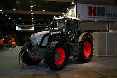 Black Fendt tractor