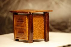 Art box, Leopard Wood, Exotic Wood of your choice | ArtisanWoodworks - Woodworking on ArtFire