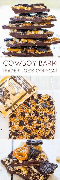 Cowboy Bark Recipe - YUM!