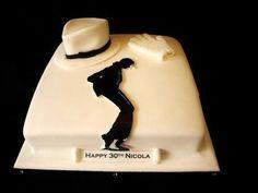 Michael Jackson cake for a big fan. Music Themed Cakes, Music Cakes, Cupcakes, Cupcake Cakes, Michael Jackson Party, Birthday Cake Girls, Birthday Ideas, Third Birthday, Birthday Cakes