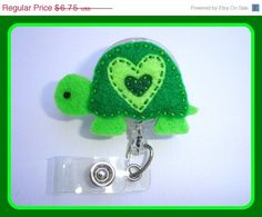 Holiday Sale Badge Reel ID Holder by clippiecollections on Etsy, $5.74