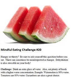 Mindful Eating Marathon #20 https://www.facebook.com/eatdrinkmindful