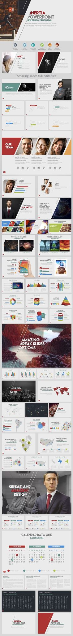 IVO Powerpoint Template Design, Business and Business powerpoint