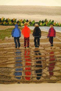 Rebecca Mezoff, Tapestry Artist: American Tapestry Biennial 10, San Diego