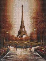 Couture, Paris Skyline, Cross Stitch, Building, Travel, Decor, Log Projects, Tour Eiffel, Towers