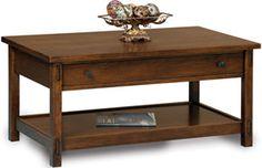 33% OFF Amish Furniture: Centennial Coffee Table: Oak