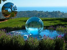 I've been designing orb fountains and orb water fountains ever since my award winning garden at the 2000 Chelsea Garden Show. I call my Orb Fountains an 'Aqualens', as I place the clear acrylic orb over a large stainless steel lens. My orb fountains are both durable and beautiful, and they're suitable for a …