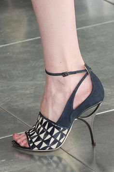 This one is actually wearable!  Antonio Berardi Fall 2013