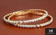pandora rose bracelet en or dubai Diamond Bangle, Diamond Jewelry, Gold Jewelry, Jewelery, Fine Jewelry, India Jewelry, Cartier, Bangles Making, Gold Jewellery Design