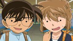 Detective Conan Haibara and Edogawa Conan Wallpaper