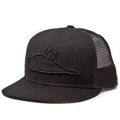 Atticus Outline Trucker Hat Black , addiction