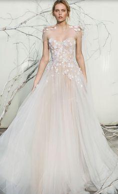 Wedding dress idea; Featured Dress: Mira Zwillinger