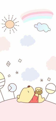 Winnie Pooh In 2019 Cute Wallpapers Cute Winnie The Pooh with Winnie The Pooh Pastel Wallpaper Bear Wallpaper, Trendy Wallpaper, Kawaii Wallpaper, Pastel Wallpaper, Cute Wallpaper Backgrounds, Wallpaper Iphone Cute, Cute Cartoon Wallpapers, Cute Winnie The Pooh, Winnie The Pooh Friends