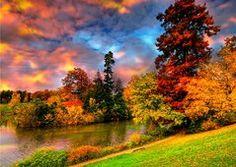céu de outono
