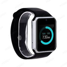"﹩21.78. Waterproof Bluetooth Smart Wrist Watch SIM Phone Mate For Android IOS Samsung LG    Screen size - 1.54"" IPS screen touch screen, Band Color - Black, Band Material - Silicone/Rubber, Operating System - Android Wear, Screen Resolution - 240*240 pixel, Compatible Operating System - Android, Battery - 350mAH, CPU - MTK6261D, Bluetooth - BT 3.0, Waterproof - Life waterproof, not for swim or bath, Features - Pedometer, UPC - 603275599073"