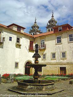 Mosteiro de São Martinho de Tibães - Portugal Portugal Destinations, Portugal Travel Guide, Visit Portugal, Spain And Portugal, Azores, Where To Go, Portuguese, Great Places, Travel Inspiration