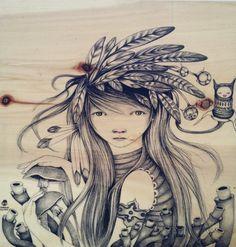 kanade- original is sold-, ivana flores