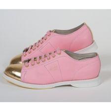 Vintage Women's Size 7 Pale Green Leather Bowling Shoes | Vintage ...