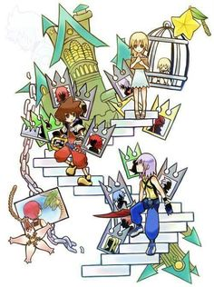 Kingdom Hearts Rechain of Memories