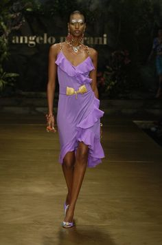 Angelo Marani at Milan Fashion Week Spring 2005 - StyleBistro