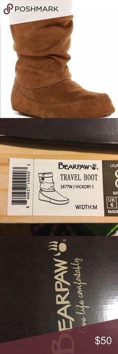 BEARPAW travel boot UK 6/US 8 BearPaw Shoes Ankle Boots & Booties