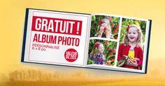 GRATUIT – album photo personnalisé. Fin le 30 novembre.  http://rienquedugratuit.ca/echantillon-gratuit/gratuit-album-photo-personnalise/