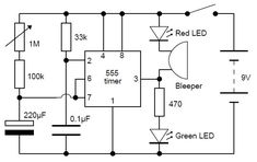 Adjustable Analog Timer #Circuit #ECE