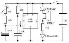 Adjustable Analog Timer #Circuit #ECE