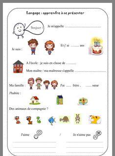 This is my book about sentiet Cookies Yay Preschool Curriculum, Preschool Worksheets, Classroom Activities, Kindergarten, French Teaching Resources, Teaching French, French Language Lessons, French Lessons, Core French