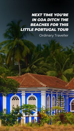 If you think Goa is all about its stunning beaches and nightlife, you're wrong. Take a trip to Goa's Portugese hamlet and you'll be transported to a different era altogether. Goa Travel, India Travel Guide, Places To Travel, Places To Visit, Latin Quarter, Plaza Hotel, Beach Trip, Nightlife, Beaches