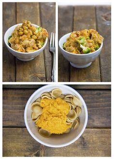 sweet potato mac & cheese.