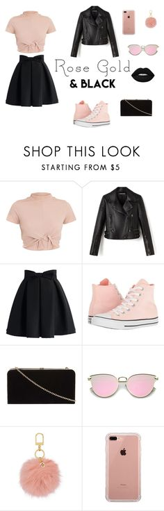 """""""Bez naslova #52"""" by lejla20 ❤ liked on Polyvore featuring Chicwish, Converse, Dorothy Perkins, Tory Burch and Belkin"""