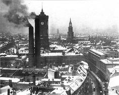 Anblick vom Turm des alten Stadthauses 1920