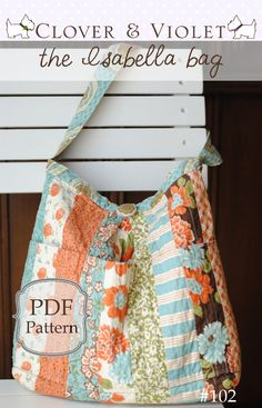 Isabella bag {pdf sewing pattern}