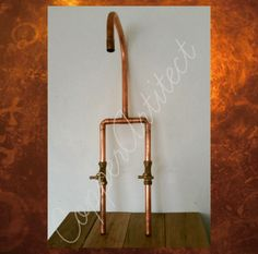 Handcrafted Copper Pipe Bath Tap Mixer Industrial Vintage Antique Rustic St
