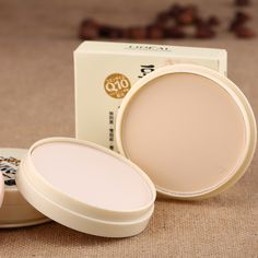 2 Color Face Base Pressed Powder Smooth Oil-control Matte Palette Highlighter Concealer Contour Makeup Cosmetics