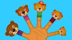 The AnimalBear Finger family Finger Family Nursery Rhyme Finger Family Rhymes, Family Songs, Kids Songs, Nursery Rhymes, Cake Pop, Data Science, Mockup, Bob, Cupcakes