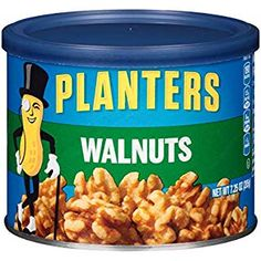 Planters Unsalted Walnuts, Ounce (Pack of Protein Snacks, Vegan Snacks, Gourmet Recipes, Dog Food Recipes, Snack Bags, Mixed Nuts, Serving Size, Planters, Fat
