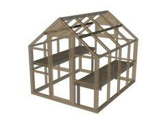 Como construir un invernadero con estructura de madera2