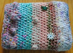 Free twiddle muff pattern