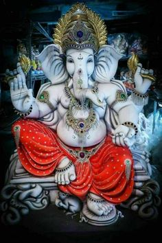 Lord Ganesha is one of the most popular Hindu deity. Here are top Lord Ganesha images, photos, HD wallpapers for your desktop and mobile devices. Ganesh Pic, Shri Ganesh Images, Ganesh Lord, Ganesh Statue, Ganesha Pictures, Ganesh Idol, Ganesha Art, Jai Ganesh, Ganesh Wallpaper
